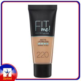 Maybelline Fit Me Matte And Poreless Foundation 220 Natural Beige 1pc