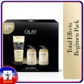 Olay Total Effect Day + Night Cream 2 x 50 ml + Face Wash 150 ml