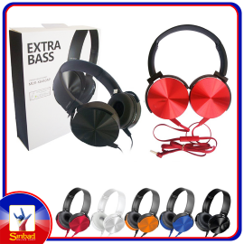 EXTRA BASS STEREO HEADPHONES MDR-XB450AP Hands Free Phone Calls For Smartphones