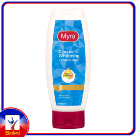MYRA CLASSIC WHITENING VITAMIN LOTION With ActiLight & UV Protection 200ML