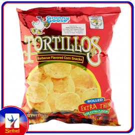 TORTILLOS BARBECUE FLAVORED CORN SNACK