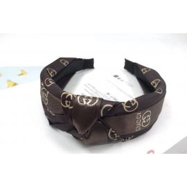 Stylish headbands brown with beige design