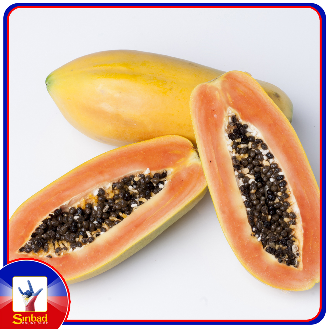 papaya ripe 1 pc ( Weighing more than 1 kg )
