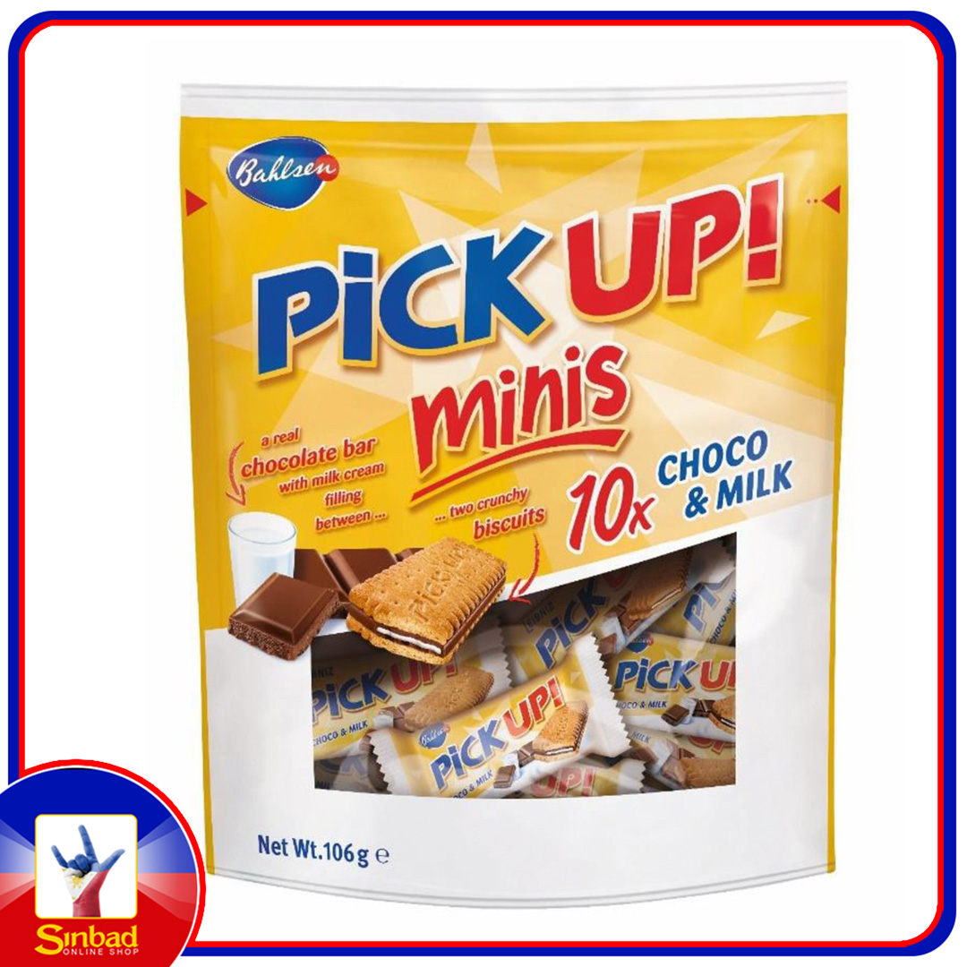 Bahlsen Pick Up Minis Choco and Milk 106g