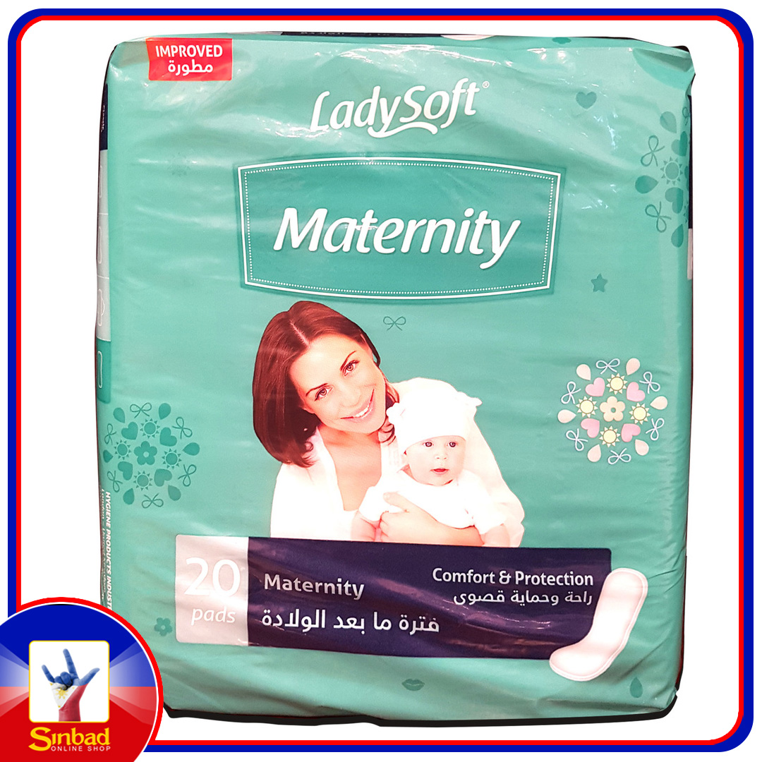 Lady Soft Comfort & Protection Maternity Pads 20pcs