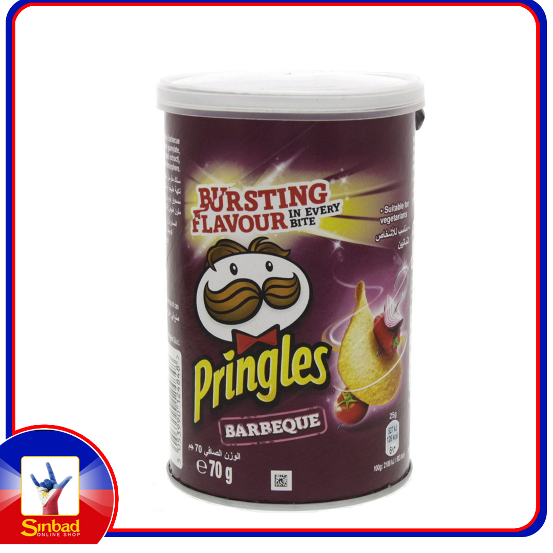 Pringles Barbeque Bursting Flavour 70g