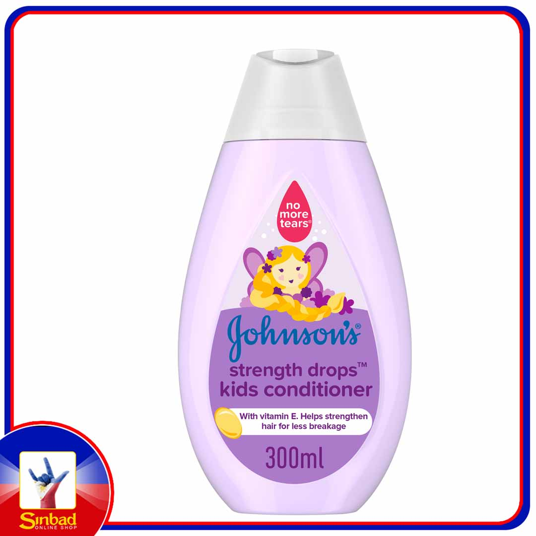 Johnsons Conditioner Strength Drops Kids Conditioner 300ml
