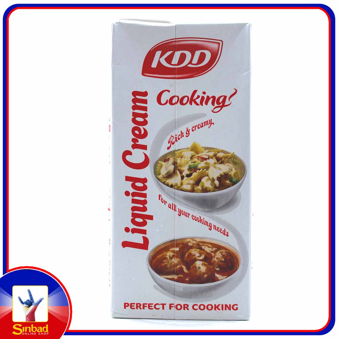 KDD Cooking Cream 1Litre