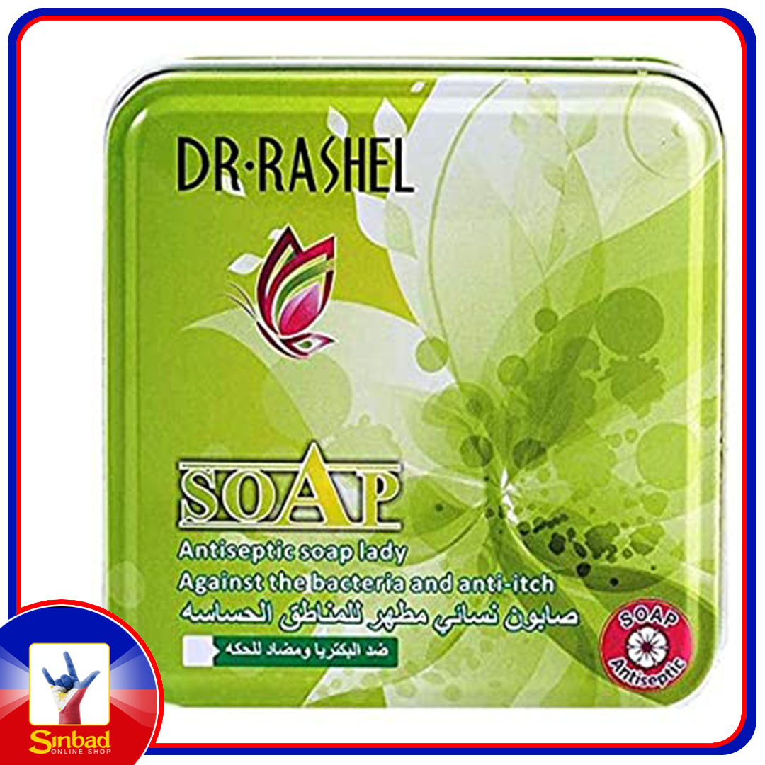 Dr. Rachel Womens Antiseptic Soap 100 gm - yellow and green