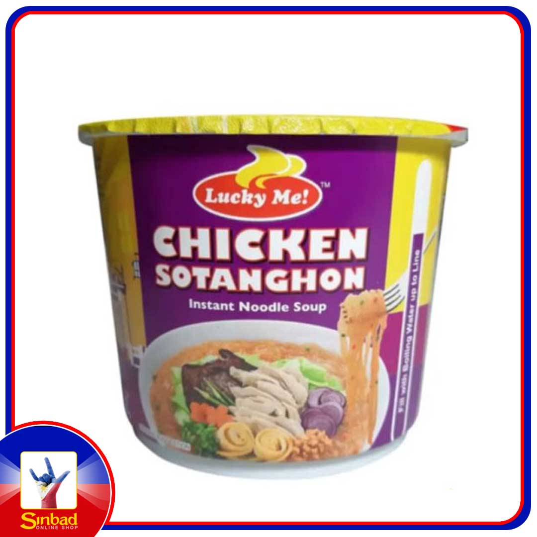 lucky me chicken sotanghon 40g