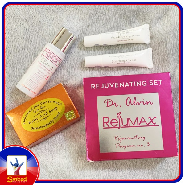 Dr alvin rejumax rejuvenating program no3