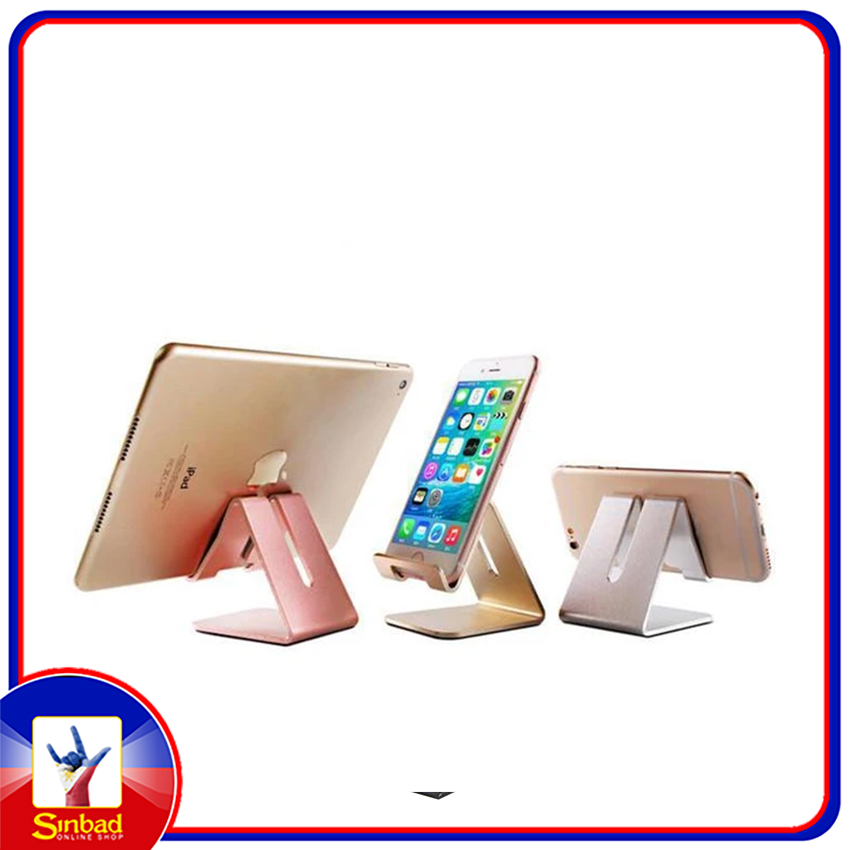 Double sided Smart Phone Stand Real Aluminum alloy material Durable Phone Stand Holder