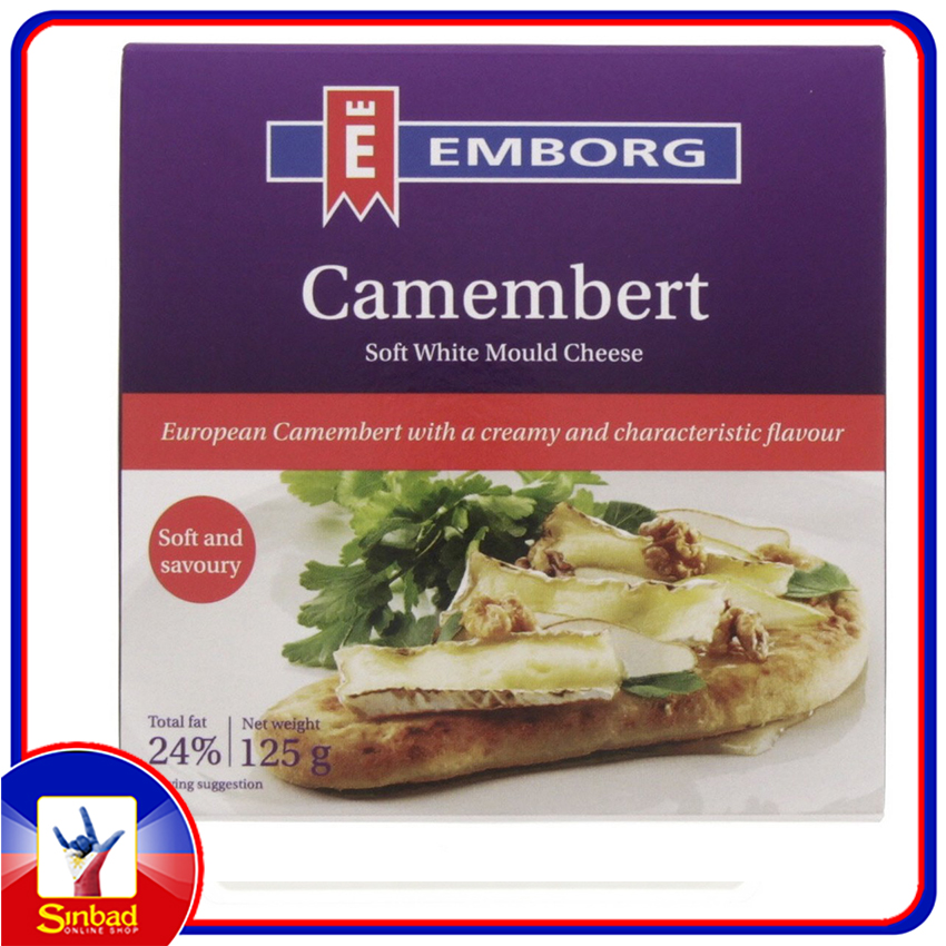 Emborg Camembert Soft White Mould Cheese 125g
