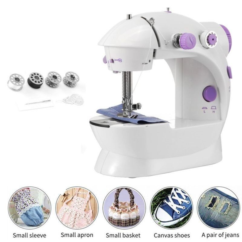 mini Sewing machine with two speed control