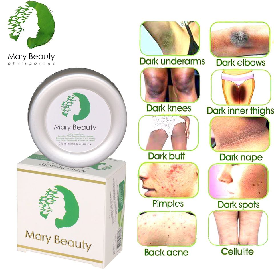 Mary Beauty Philippines Natural Cream For Sensitive Areas 50g