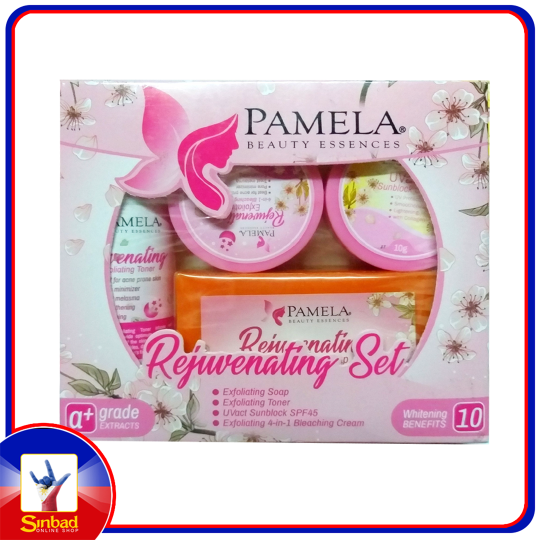 Pamela Beauty Essences Rejuvenating Set 2 ( Skin Rebon, Glassy skin, Pimples, Skin Whitening)